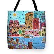 Boston Harbor Tote Bag by Karla Gerard