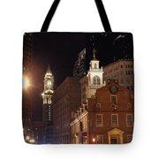 Boston History Tote Bag by Joann Vitali