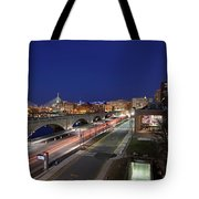Boston Museum Of Science Tote Bag by Juergen Roth