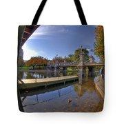Boston Public Garden Tote Bag by Joann Vitali