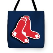 Boston Red Socks Tote Bag by Tony Rubino