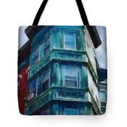 Boston's North End Tote Bag by Jeff Kolker