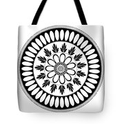 Botanical Ornament Tote Bag by Frank Tschakert