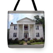 Bottom-mcafee-guthrie House - Perryville Ky Tote Bag by Thia Stover