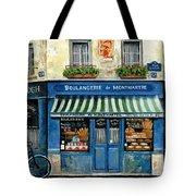 Boulangerie De Montmartre Tote Bag by Marilyn Dunlap