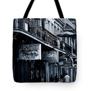 Bourbon Street New Orleans Tote Bag by Christine Till