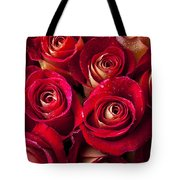 Boutique Roses Tote Bag by Garry Gay