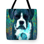 Boxer 20130126v4 Tote Bag by Wingsdomain Art and Photography