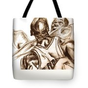 Boxout Tote Bag by Dallas Roquemore