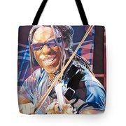 Boyd Tinsley And 2007 Lights Tote Bag by Joshua Morton