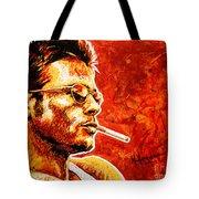 Brad Tote Bag by Maria Arango