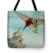 Breakfast Tote Bag by Thomas J Herring