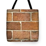 Brick Wall Tote Bag by Frank Tschakert