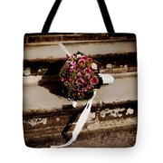 Bridal Bouquet Tote Bag by Mountain Dreams
