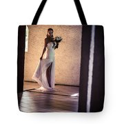 Bride. In Color Tote Bag by Jenny Rainbow