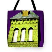 Bright Cross Tower Tote Bag by Karol  Livote