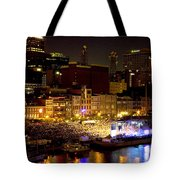 Bright Nights Tote Bag by Diana Powell