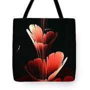 Bright Red Tote Bag by Anastasiya Malakhova