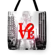 Brightest Love Tote Bag by Bill Cannon