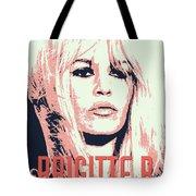 Brigitte B Tote Bag by Chungkong Art