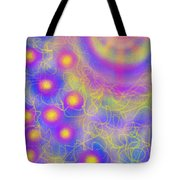 Brilliance Upon A Star Tote Bag by Daina White