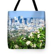 Brisbane Cbd Tote Bag by Peta Thames