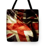 British Flag  Tote Bag by Les Cunliffe