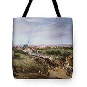 British Retreat, 1775 Tote Bag by Granger