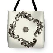 British Shilling Wall Art Version 1 Tote Bag by Joseph Baril