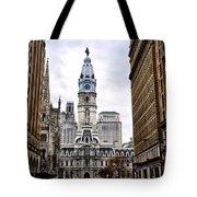 Broad Street Philadelphia Tote Bag by Bill Cannon