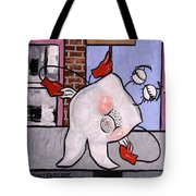 Broke Tooth Tote Bag by Anthony Falbo