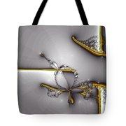 Broken Jewelry-fractal Art Tote Bag by Lourry Legarde