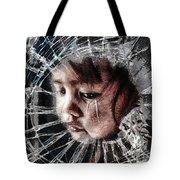 Broken Tote Bag by Mo T