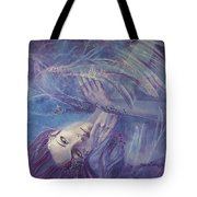 Broken Wings Tote Bag by Dorina  Costras