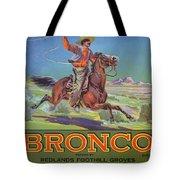 Bronco Oranges Tote Bag by American School