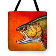 Brookie Portrait  Tote Bag by Savlen Art