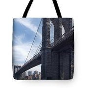Brooklyn Bridge Tote Bag by Mike McGlothlen