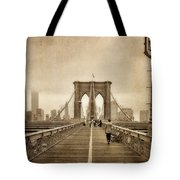 Brooklyn Memoirs Tote Bag by Joann Vitali