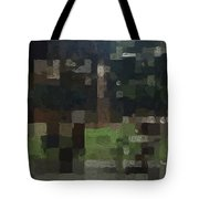 Bryant Park Tote Bag by Linda Woods