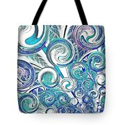 Bubbles Tote Bag by Anastasiya Malakhova