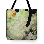 Buddha Ink Brush Calligraphy Tote Bag by Peter v Quenter