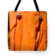 Buddhist Monks 03 Tote Bag by Rick Piper Photography