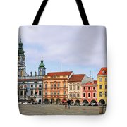 Budweis - Namesti Premysla Otakara II Tote Bag by Christine Till