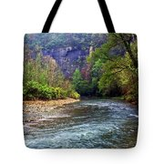 Buffalo River Downstream Tote Bag by Marty Koch