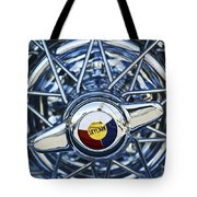 Buick Skylark Wheel Tote Bag by Jill Reger
