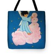 Building A Cloudman Tote Bag by Pamela Allegretto