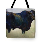 Bull Tote Bag by Frances Marino