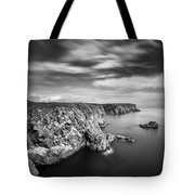 Bullers Of Buchan Cliffs Tote Bag by Dave Bowman