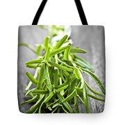 Bunch Of Fresh Rosemary Tote Bag by Elena Elisseeva
