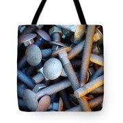 Bunch Of Screws Tote Bag by Carlos Caetano